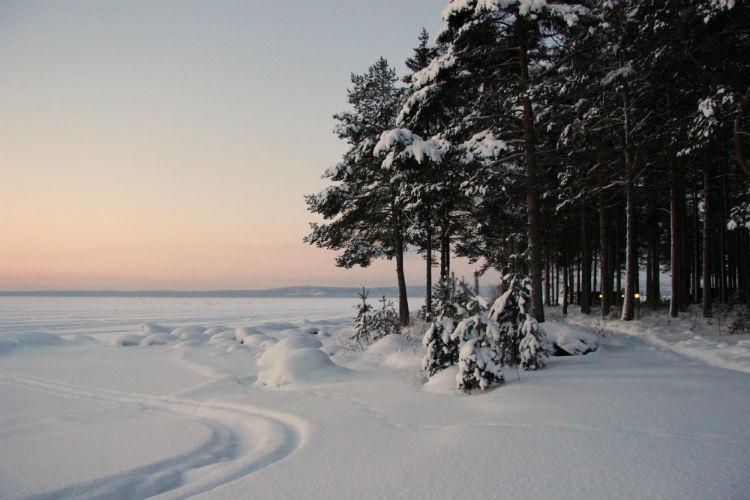 Заснеженный рай