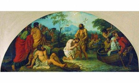 История установления таинства крещения