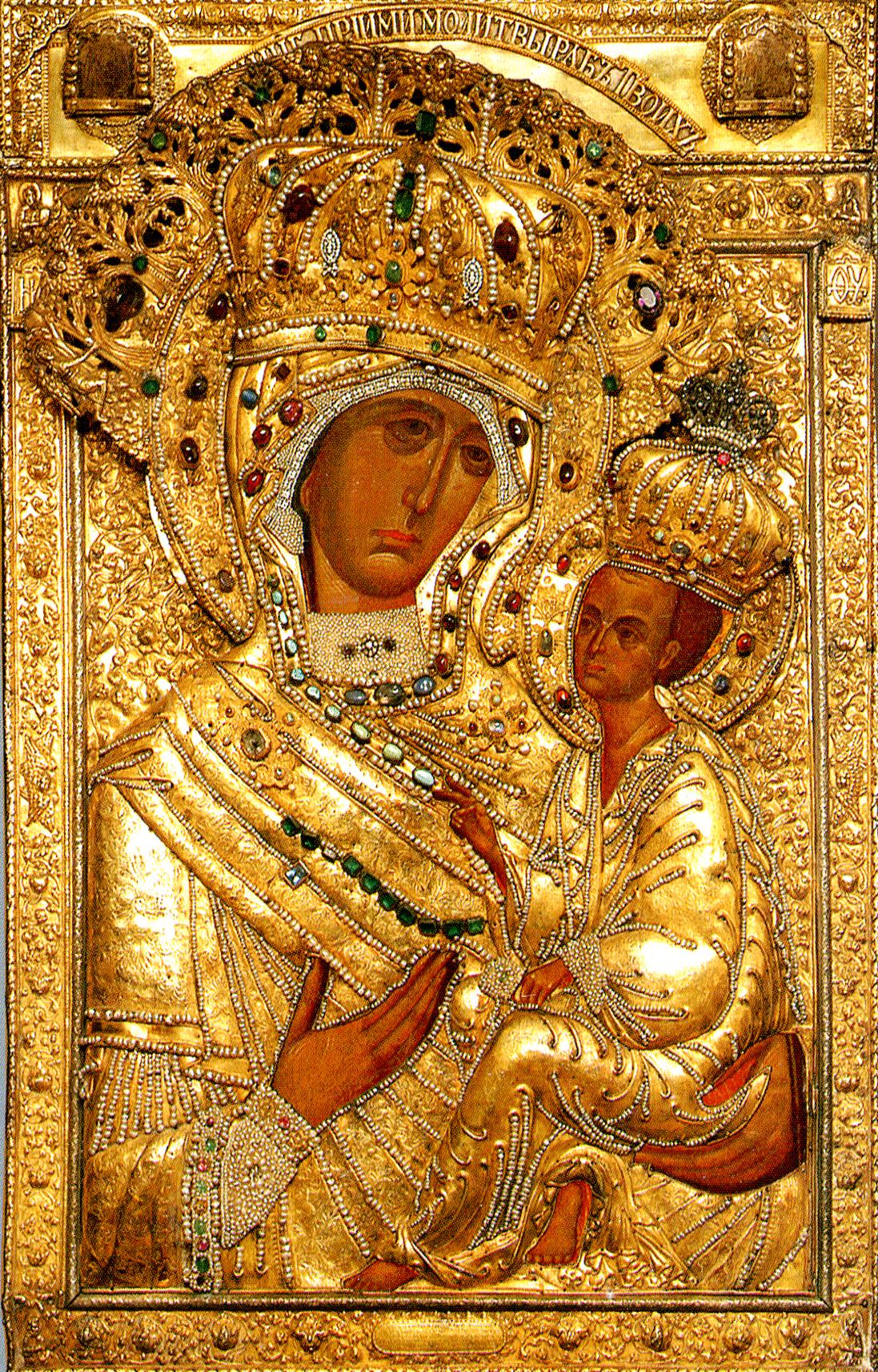 иконы божией матери фото