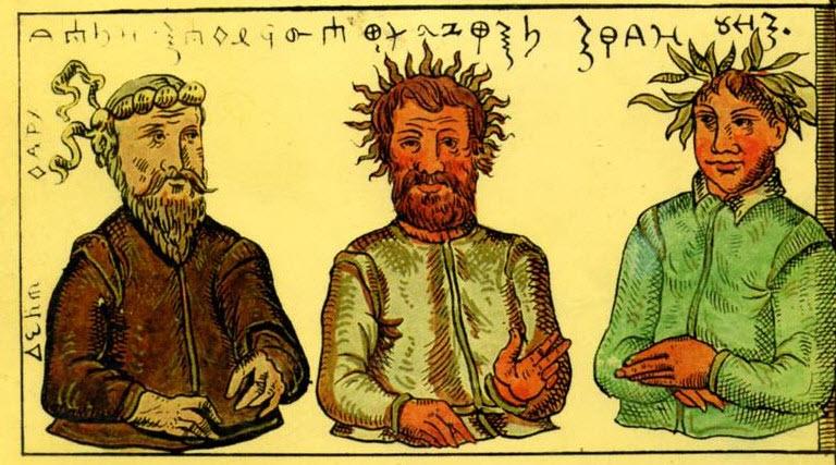 В каких богов верили русские до принятия христианства