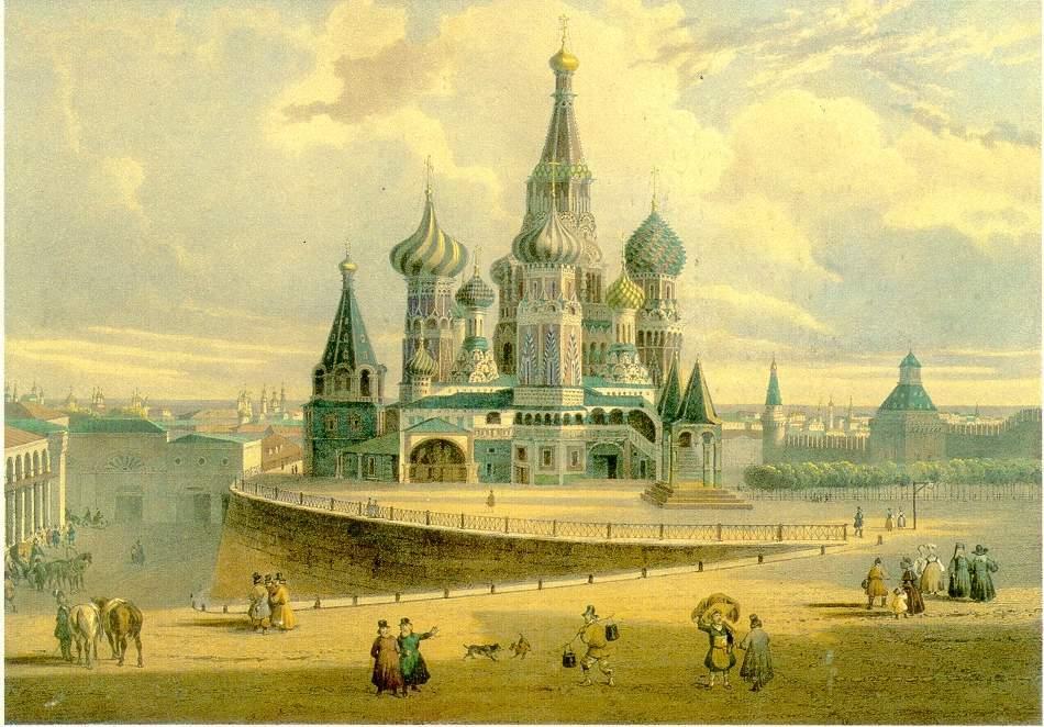 Храм Василия Блаженного: интересные факты