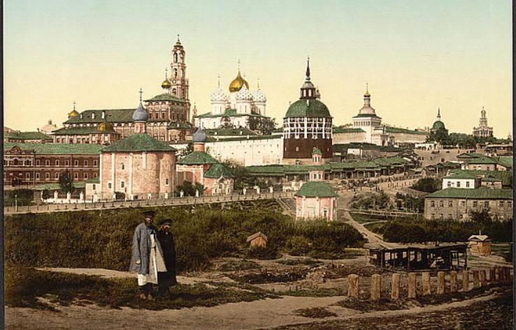 Guide du voyageur a Moscou: путеводитель по Москве для французов