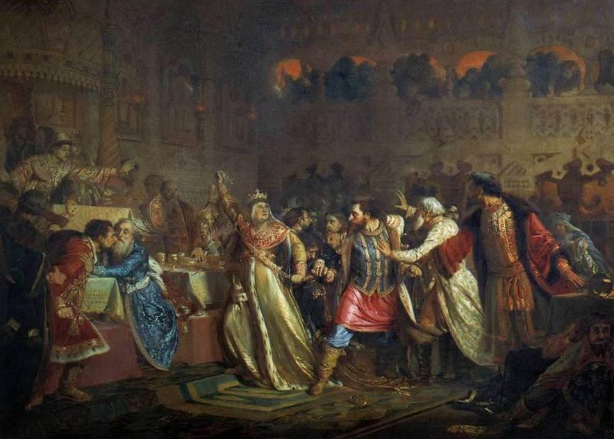 Дмитрий Шемяка против Василия Темного: битва за Москву XV века