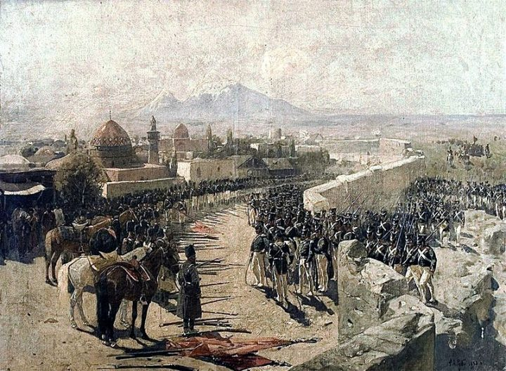 Capture_of_Erivan_Fortress_by_Russia_1827_by_Franz_Roubaud