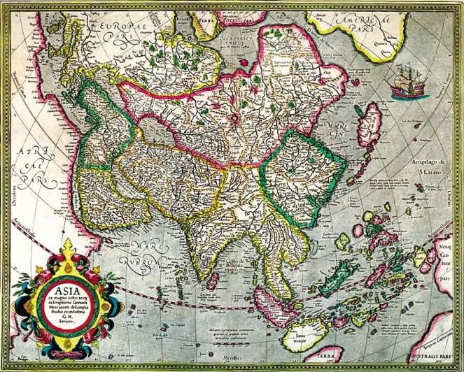 Какой видел Россию в 16 веке великий географ Герард Меркатор
