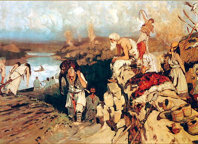Что произошло с - киевским племенем - полян