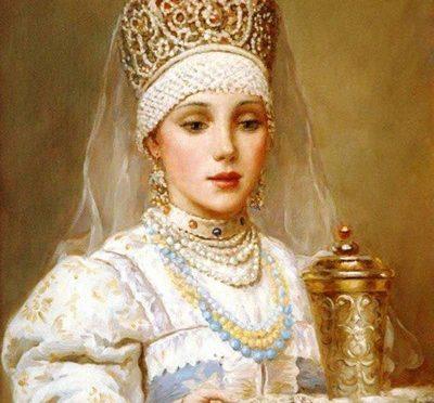 Какой был идеал женской красоты на Руси
