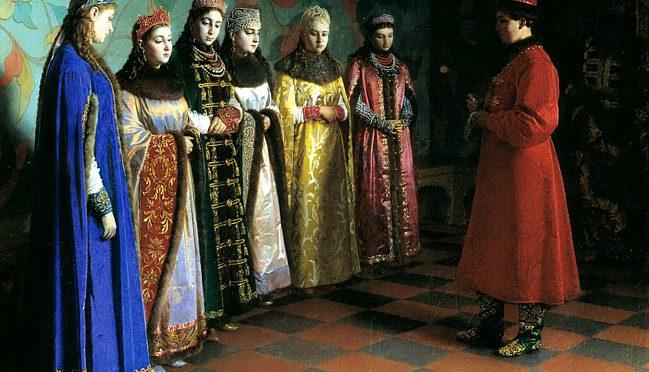 As the first Romanov chose brides