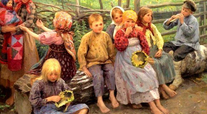Как русских детей научили уважать старших