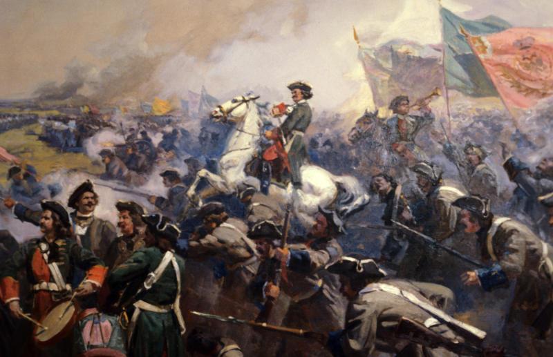 Полтавской битве картинка