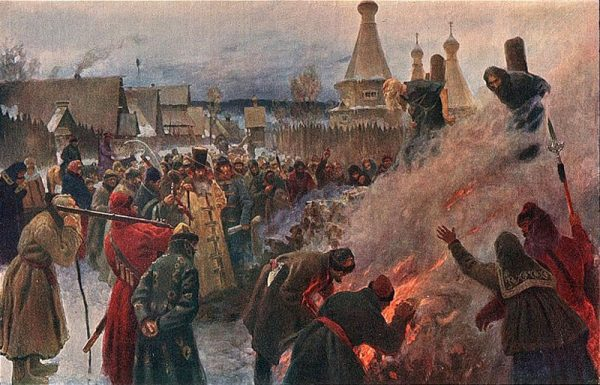 Какой вид казни был популярен на Руси при Иване Грозном