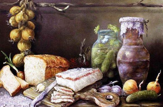 Кто первым приготовил сало