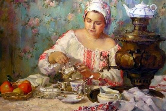 В каком веке русские начали пить чай