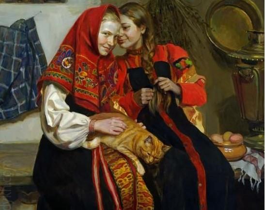 Как русские привлекали удачу