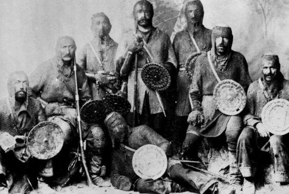Какой грузинский народ был потомками крестоносцев