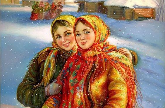 Что для русской женщины значил платок
