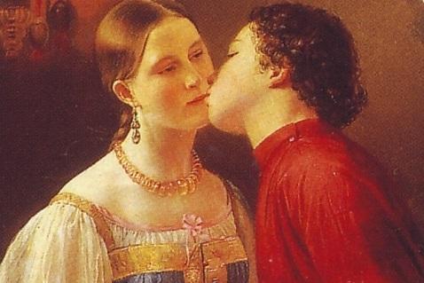 Почему русские целуются по три раза