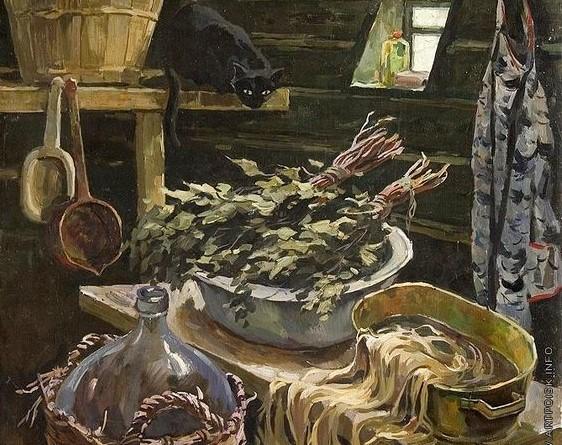 Русские бабы моются в русской бане — img 4