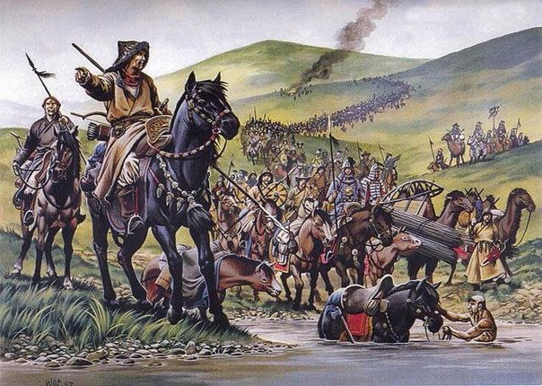 Как крестоносцы и татаро-монголы ходили в Крестовый поход