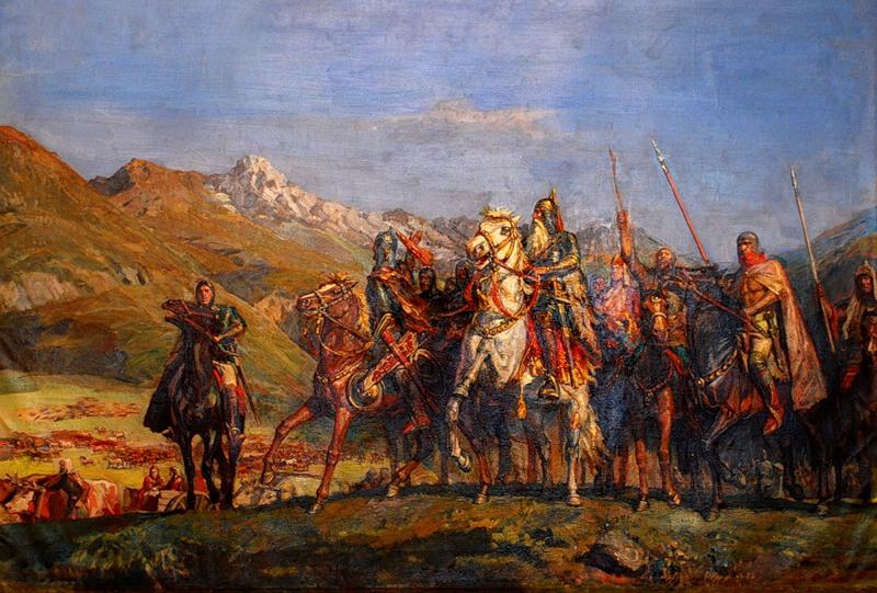 Когда начались первые военные походы на Кавказ