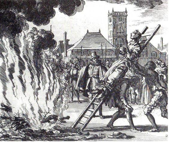 Какая казнь ждала женщин в Средневековой Европе