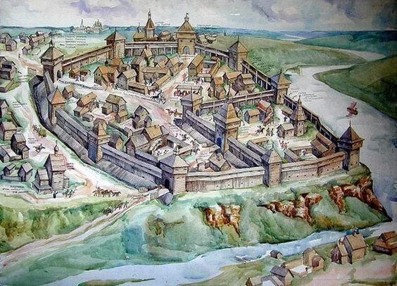 Как крепости в России старше самой страны