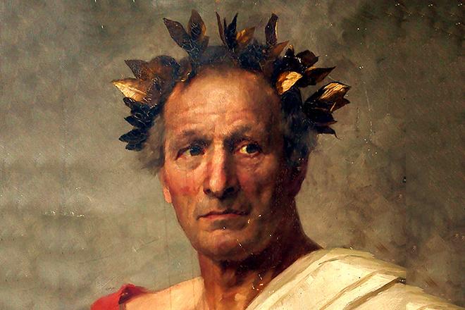 Какой народ открыл Юлий Цезарь