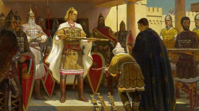 Как Святослав хотел создать государство на Балканах