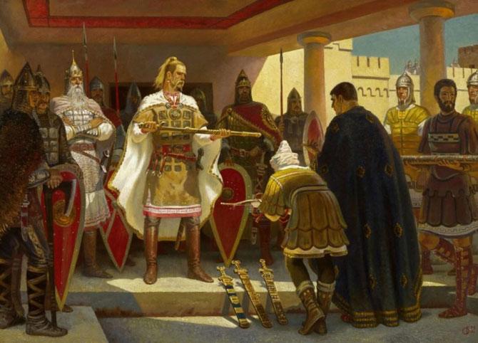 Какое государство Святослав хотел на Балканах
