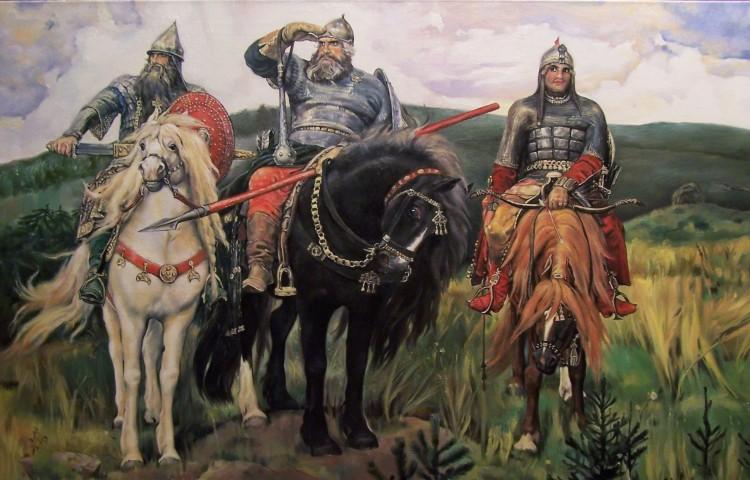 Какого роста были русские богатыри