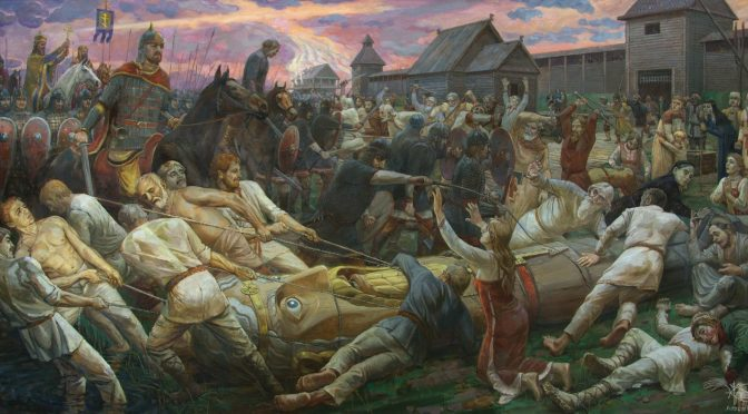 Зачем князь Владимир до принятия христианства реформировал язычество
