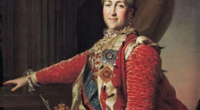 Как Екатерина установила в Крыму свою власть