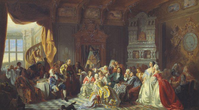 Как на Руси пировали цари