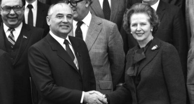 Как Тэтчер оказывала влияние на Горбачева