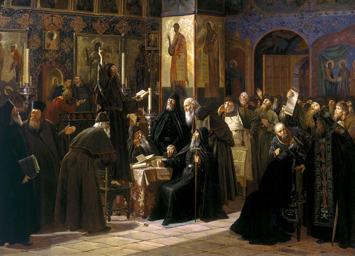 1 февраля 1676 года: захват Соловецкого монастыря правительственными  войсками