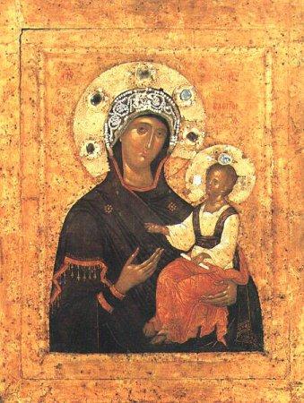 Богоматерь-Путеводительница – икона апостола Луки