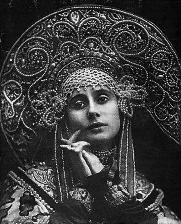 Кокошник Анны Павловой
