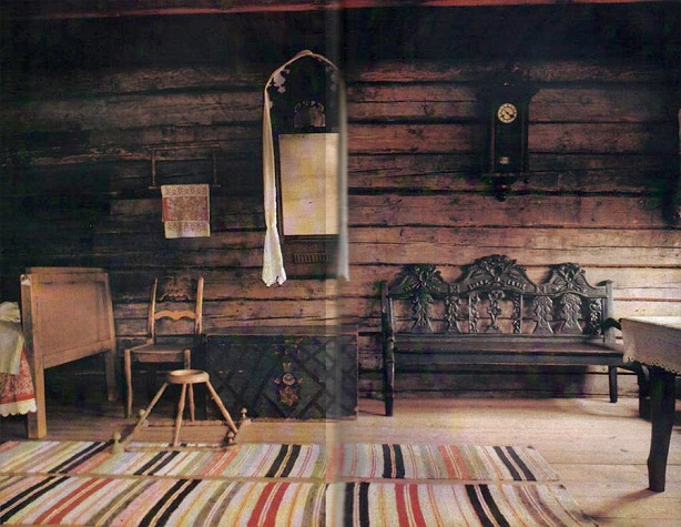 Русская изба интерьер и дизайн