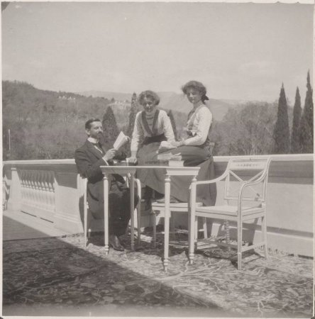 The Tsar's family enjoying leisure time in their best years