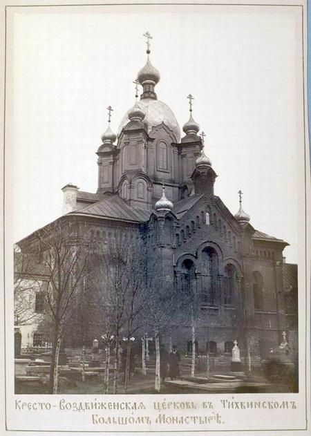 Кресто-Воздвиженская церковь в Тихвинском Большом монастыре