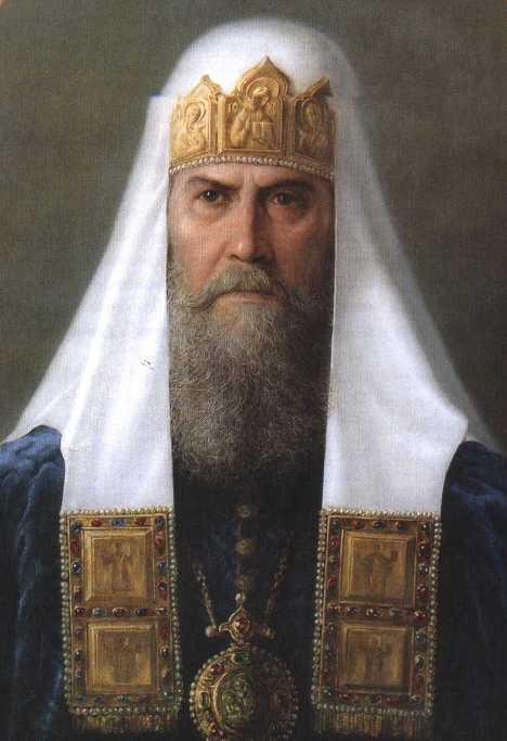 Патриарх Филарет (Романов Федор Никитич). Отец первого царя из династии Романовых. попал в опалу при Борисе Годунове и был сослан в монастырь. Некоторое время был фактическим правителем страны при царе Михаиле Федоровиче.