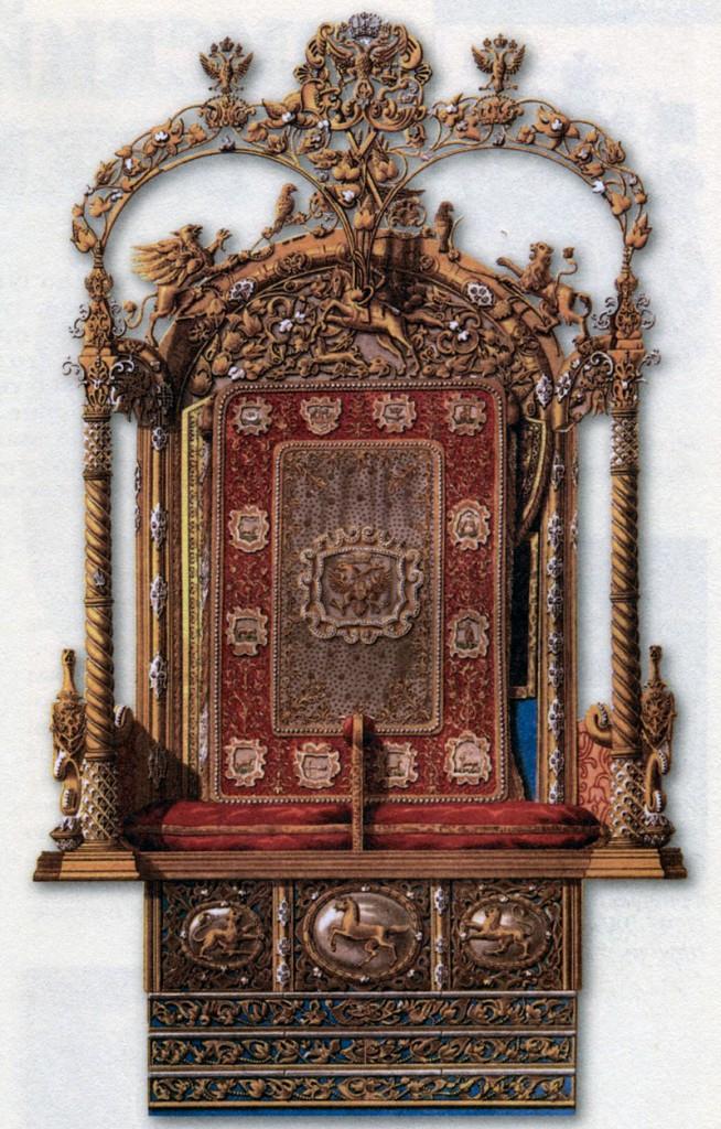 трон Петра I