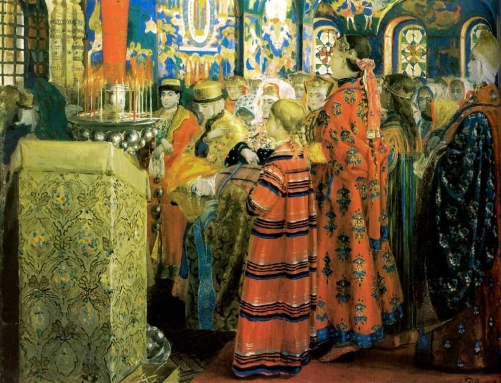 Цвет русской женской добродетели.