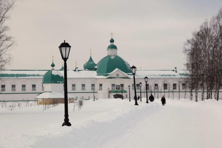Настоятельский корпус Александро-Свирского монастыря