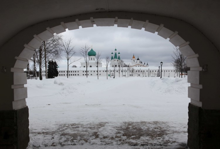 Троицкая часть Александро-Свирского монастыря