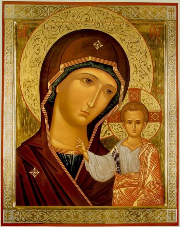 В день Казанской иконы Божией Матери.