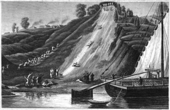 Жареный бугор (Свиньин, 1823)
