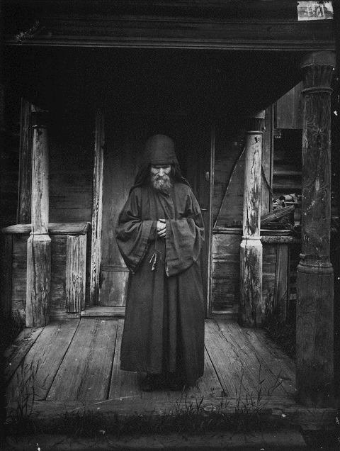 Благовещенский Керженский единоверческий мужской монастырь. Монах-схимник 1897