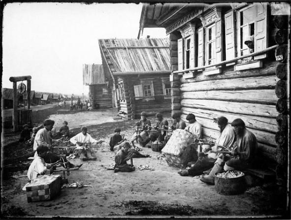 Ложкарное производство. Отделка ложечного черенка 1897