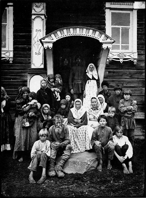группа старообрядцев